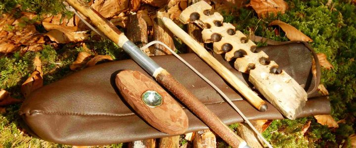 Waldhandwerk® vom letzten Streichholz zum Reibungsfeuer