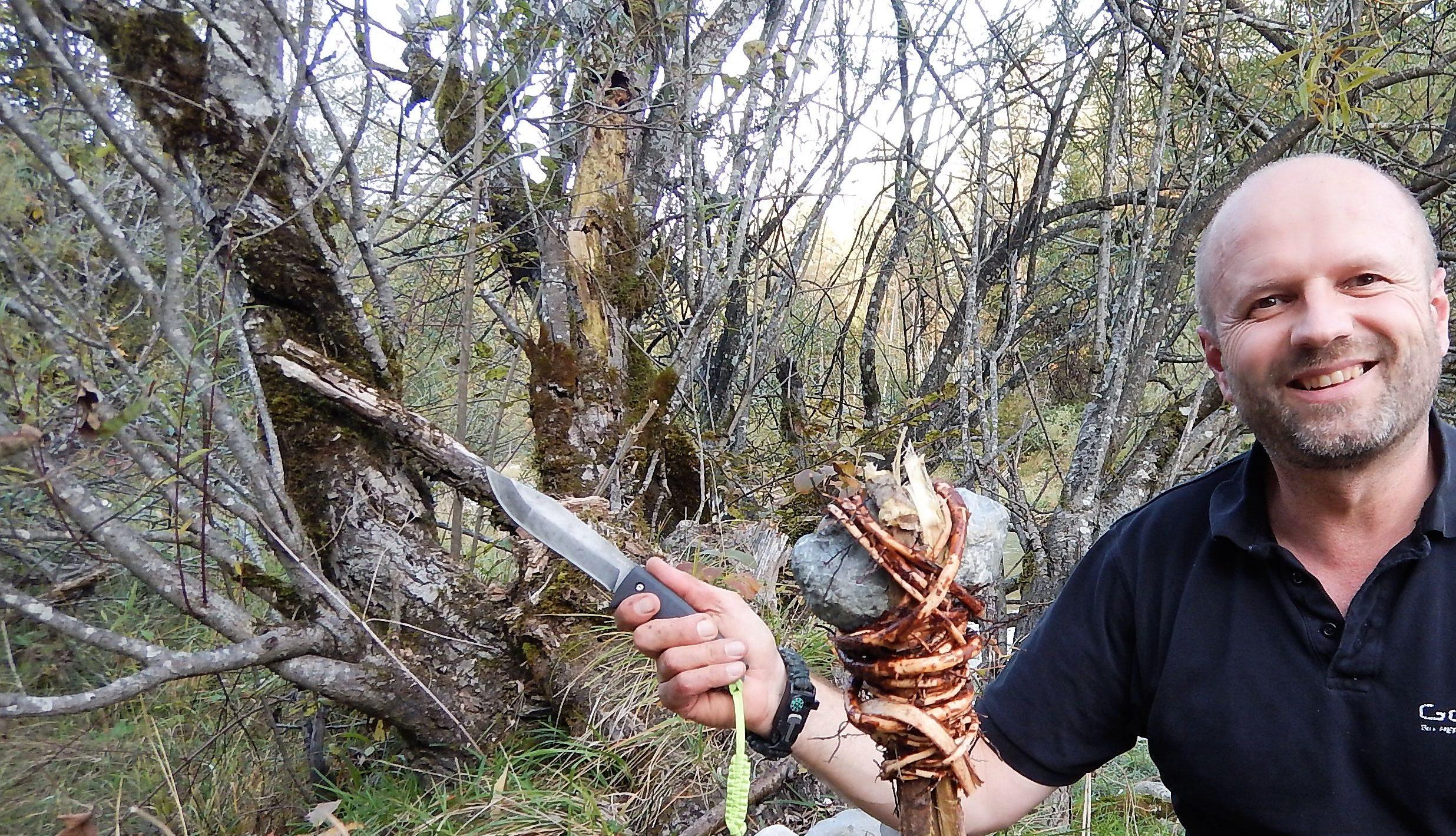 Waldhandwerk® mit dem Messer